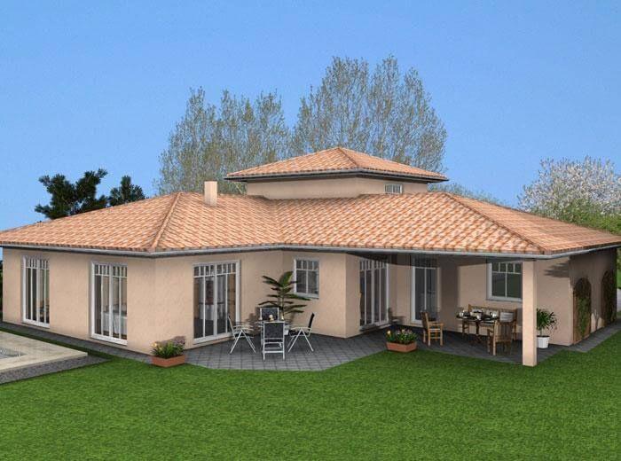 Das Im Mediterranen Stil Errichtete Anwesen überzeugt Uns Durch Seine  Individuelle Raumaufteilung. So Wurde Im Dachgeschoss Ein Separates Zimmer