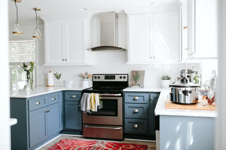pretty kitchen reno