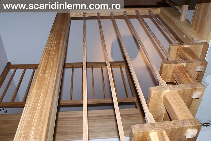 pret scari din lemn cu vang si trepte economice cu pas combinat scari interioare