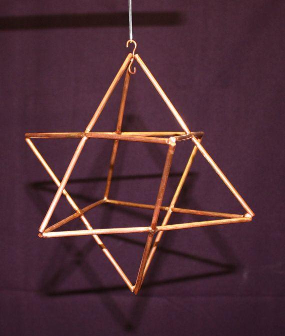 "8"" Merkaba~ 8 Pointed Star ~ Star Tetrahedron"