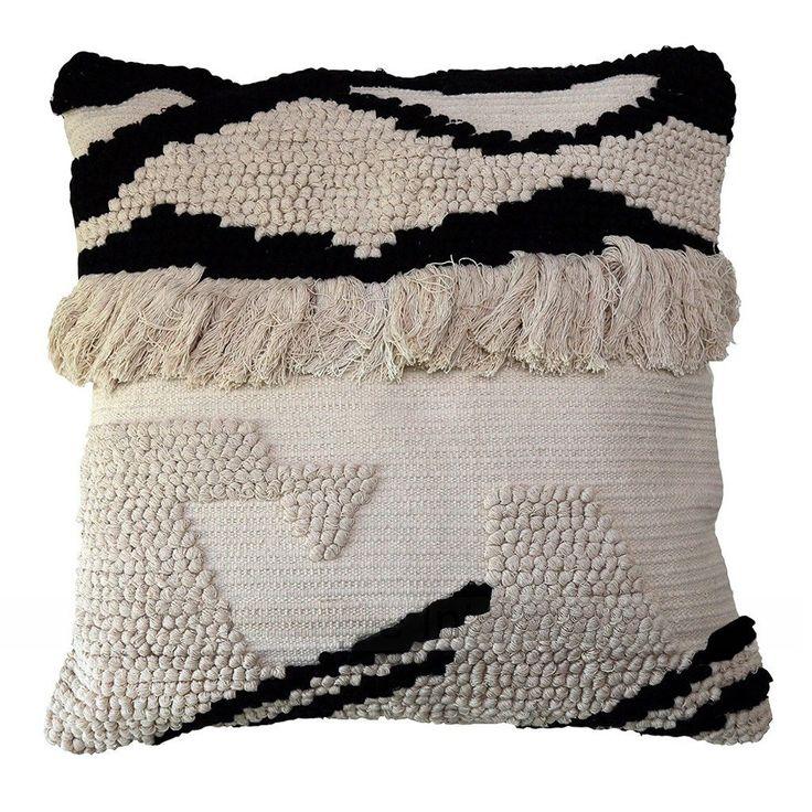 Maisie Fringed Cushion