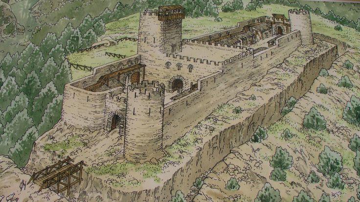 Origens castell de #Salàsdepallars #pallarsjussa #romàniccivil