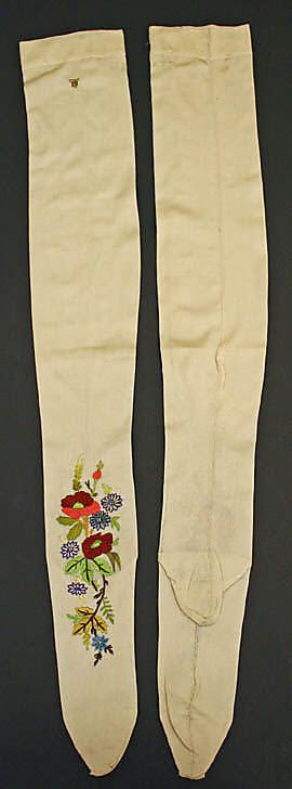 Stockings  Date: 19th century Culture: French Medium: silk