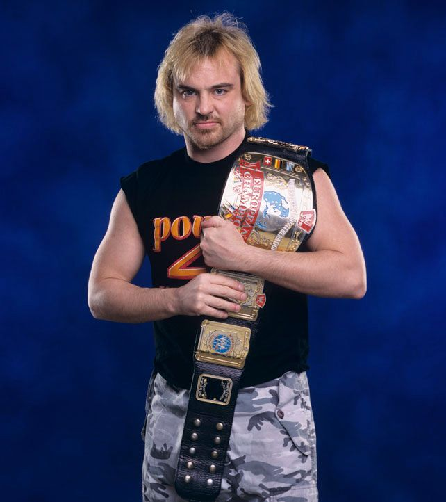 Spike Dudley as WWE European Champion