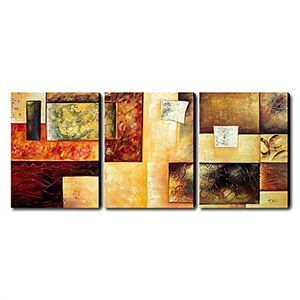 Hand-painted Abstract Oil Painting with Stretched Frame - Set of 3 - See more at: http://homelava.com/en-hand-painted-abstract-oil-painting-with-stretched-frame-set-of-3-p10816.htm#sthash.uIPMLWLc.dpuf