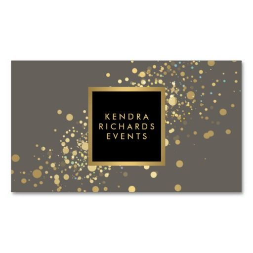 44 best business cards for event planners and wedding planners beautiful sparkly business card for event planners bloggers stylists and more black and colourmoves