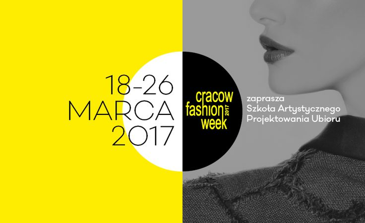 Remember about our March event, one of the most important fashion shows in Poland - CRACOW FASHION WEEK 2017! #cfw2017