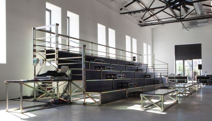 OS > stage by Lukas Wegwerth for LUMA Arles - The OpenStructures blog.