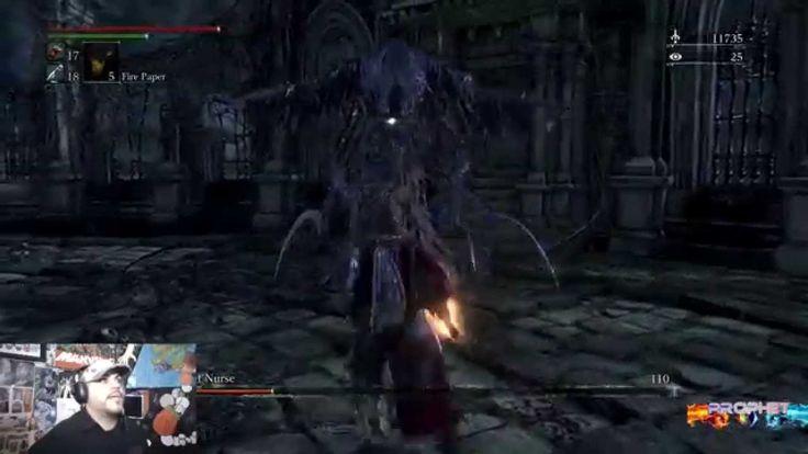 Bloodborne - Mergo's Wet Nurse Boss #11 1080p 60fps
