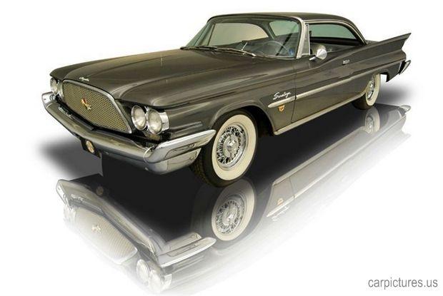 1960 Chrysler Saratoga 361 Dual Quad Sonoramic Lion V8