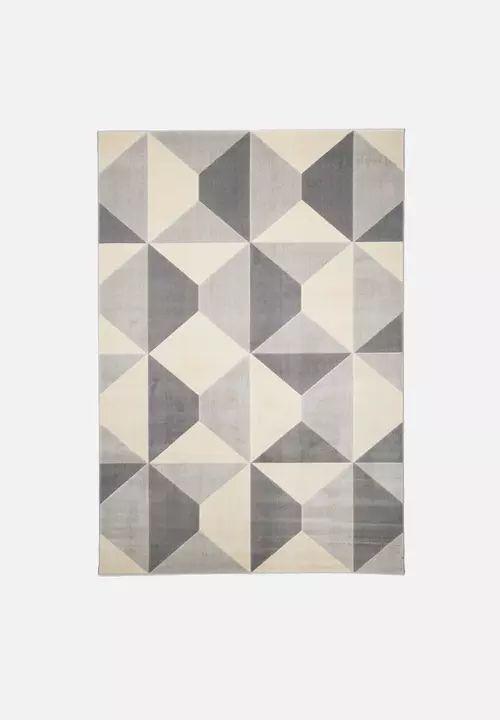 Geometric rug - grey Hertex Fabrics Rugs | Superbalist.com