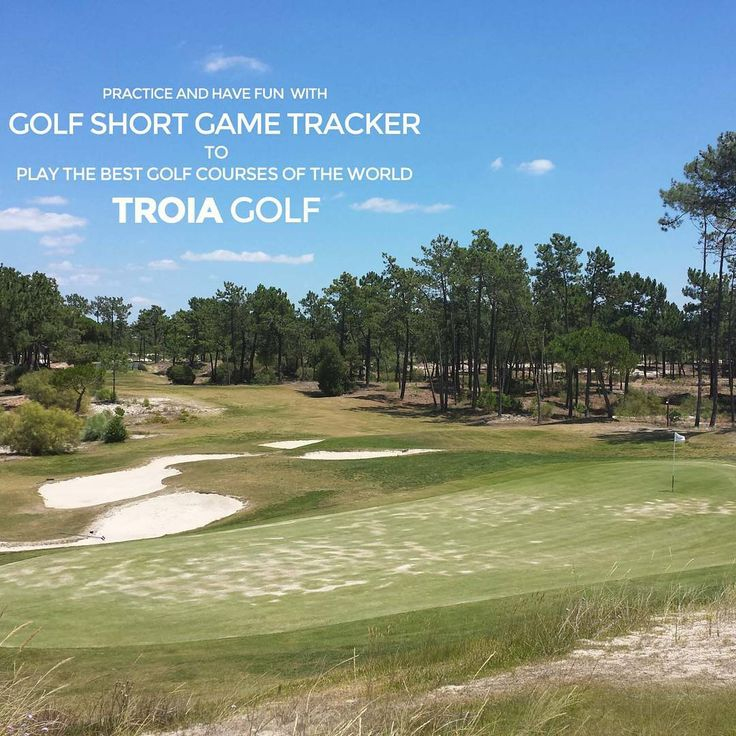 """Play the best golfcourses of the World like Trioia Golf in Portugal!"""