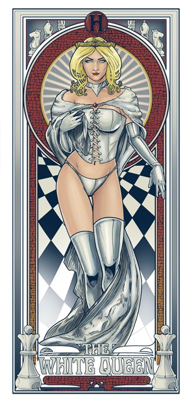 White Queen Nouveau by hezaa.deviantart.com on @deviantART