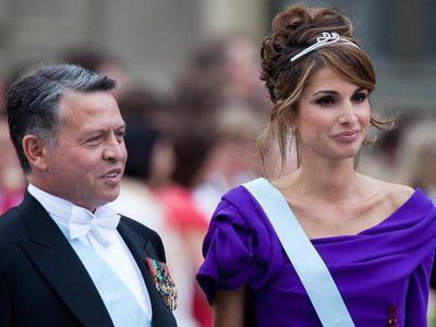 Koning Abdullah en koningin Rania 20 jaar getrouwd - Blauw Bloed