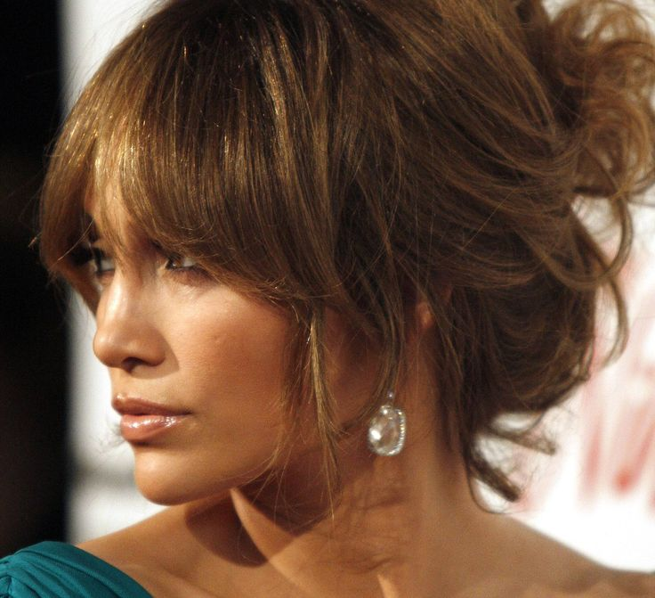 Wedding Hairstyles With Bangs: 49 Best Blunt Fringe Up-Do's Images On Pinterest