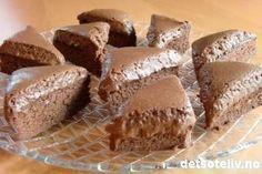 Arne Brimis sjokolademousse-kake