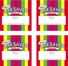 LDS Primary Bulletin Board 2015 | This cute handout is made to look like a roll of Life Savers Candy.