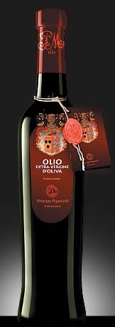 "The Classico Prince Pignatelli Extra Virgin Olive Oil is a blend obtained from a careful selection of ""Gentile di Larino"", ""Leccino"", ""White Paesana"" and ""Black Paesana"" olive monovarieties of Isernia and Alto Molise areas. The Classico E.V.O. Oil is very appreciated, with a gold green color. The oil has a fruity taste with a lightly spicy aftertaste, excellent with every kind of dish. First cold press http://www.bestfromitaly.us/Principe_Pignatelli/Extra_virgin_olive_oil.htm"