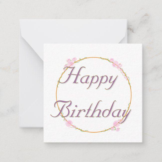 Square Happy Birthday Greeting Card Zazzle Com Birthday Greeting Cards Birthday Greetings Happy Birthday Greeting Card