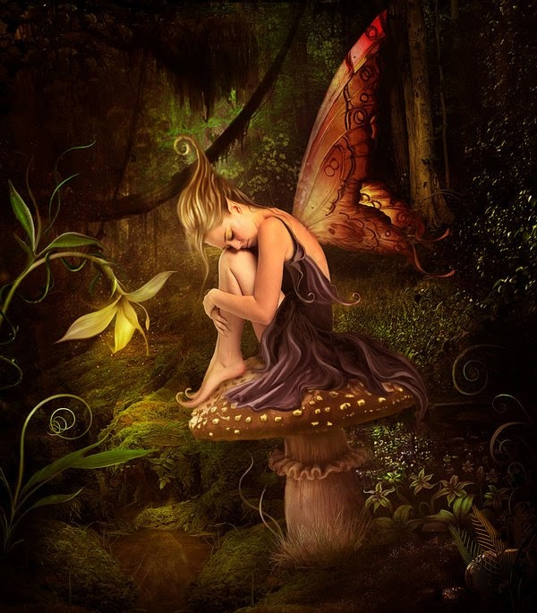 El bosque magico, Elena Dudina     Fairy  http://elenadudina.deviantart.com/art/El-bosque-magico-139591927