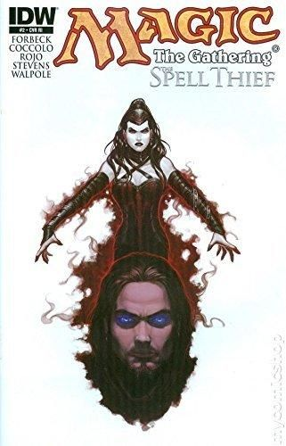 Magic the Gathering Spell Thief #2 Retailer Incentive Variant