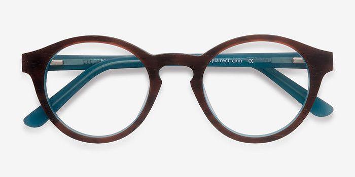 Dreamy | Brown Blue Les boisées Lunettes de Vue | EyeBuyDirect