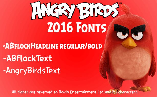 Image for ABFlockText font