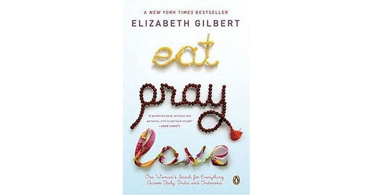 It's 3 a.m. and Elizabeth Gilbert is sobbing on the bathroom floor. She's in her thirties, she has a husband, a house, they're trying for...