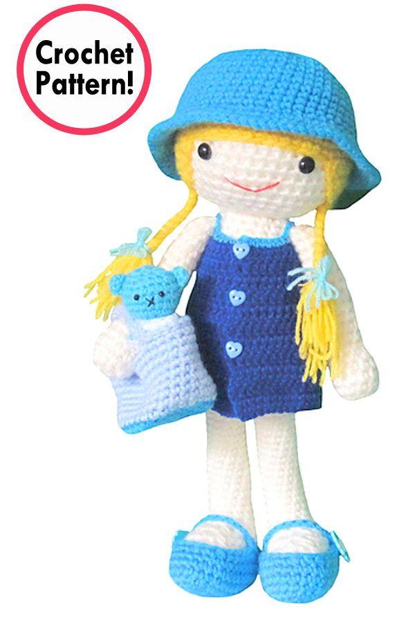 Zabbez crochet - Amigurumi flower doll patterns - Zabbez | 900x600