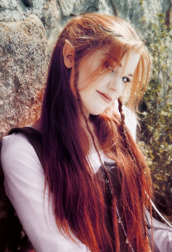 Woman Elf The Celtic Woman Red Hair Elf Ginger Hair Red Hair Woman