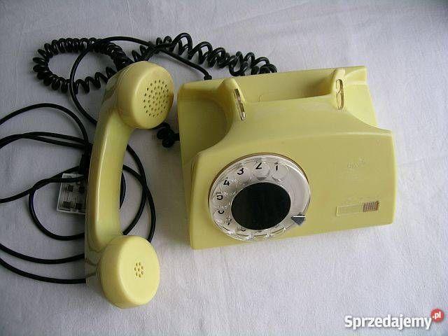 Telefon z tarczą - PRL Rzeszów - Sprzedajemy.pl