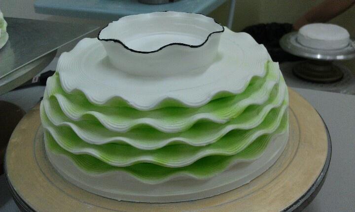 Modern cake....