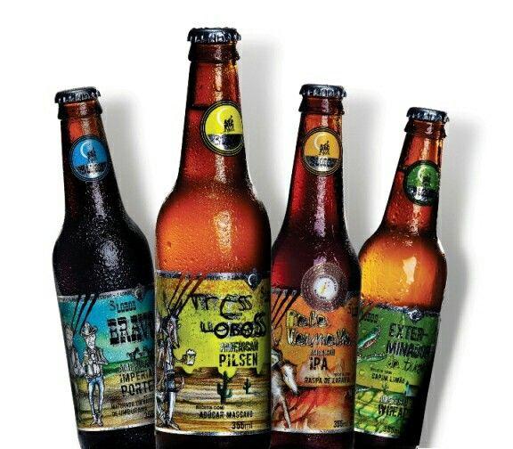 Cervejas 3 Lobos