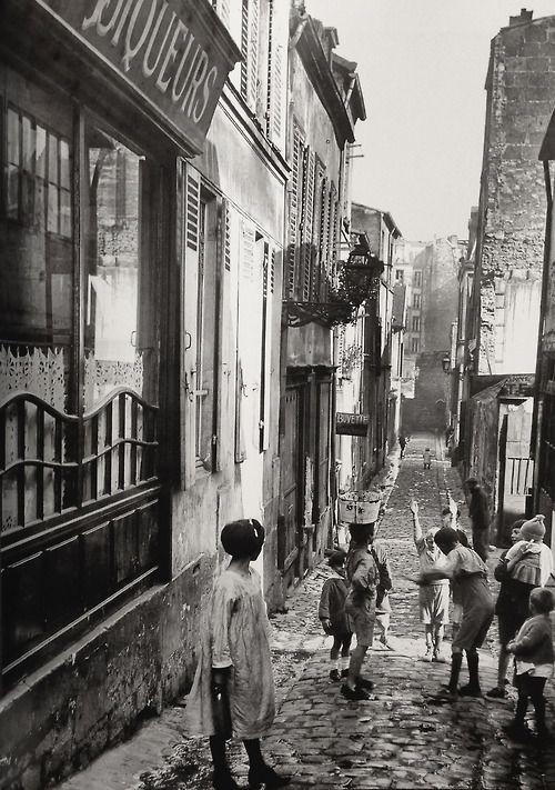 Belleville Paris ca.1930 Photo: Anonyme.