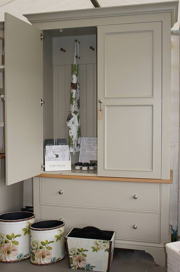 baslow cloak and coat cupboard by chatsworth cabinets   notonthehighstreet.com