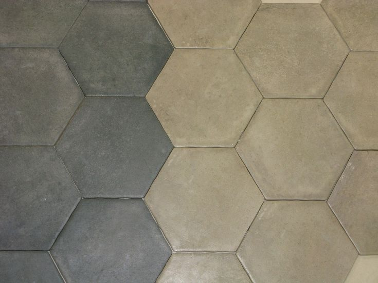Nouveaut durstone carrelage hexagonal 15x15 aspect beton for Carrelage blanc hexagonal