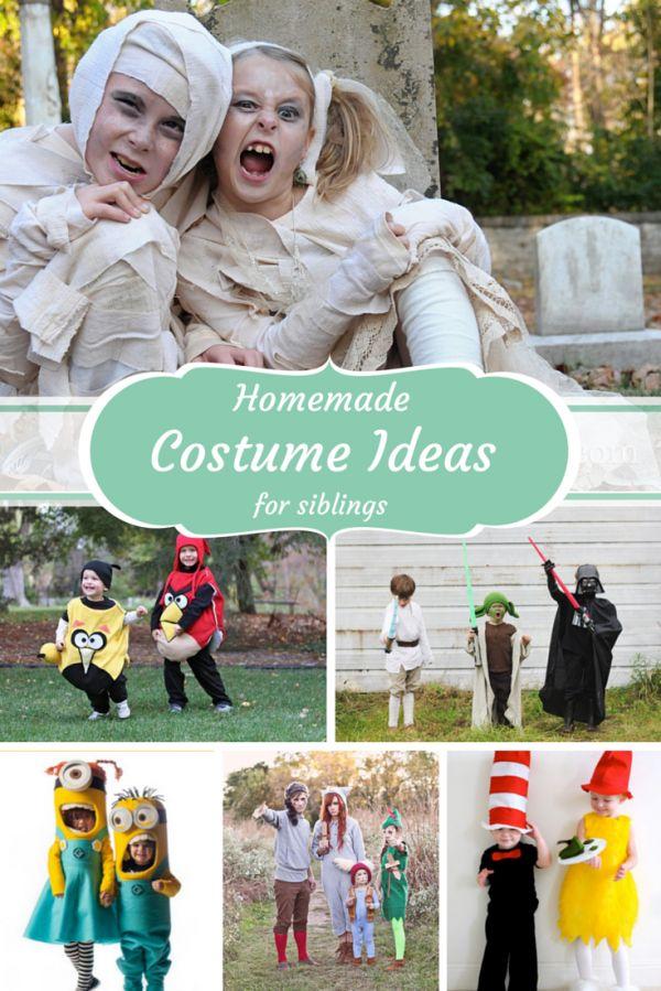 handmade halloween costume ideas for siblings - Halloween Ideas For Siblings