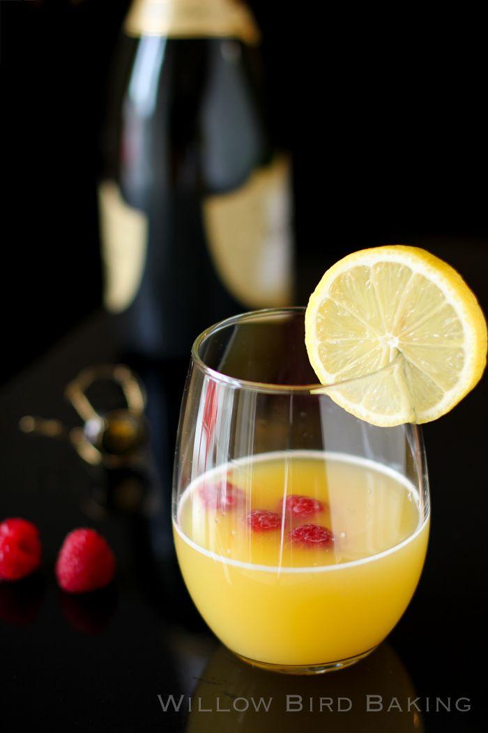 Fantastic Mimosa Recipe. uses triple sec and prosecco.