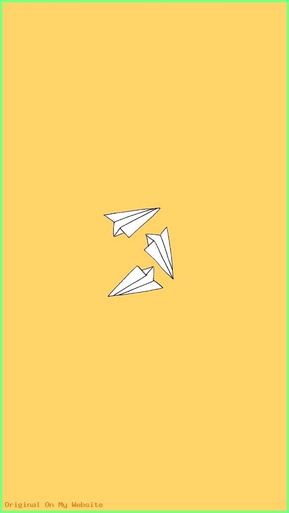 Pin By Wierdo Bb On Baddie Aesthetic Iphone Wallpaper Yellow