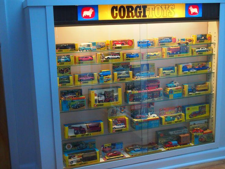 Corgi Light Up Display Cabinet. Pic by Joe Danon