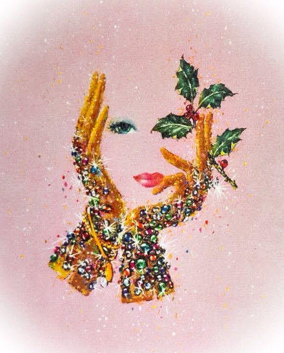 Bejeweled MCM Christmas.