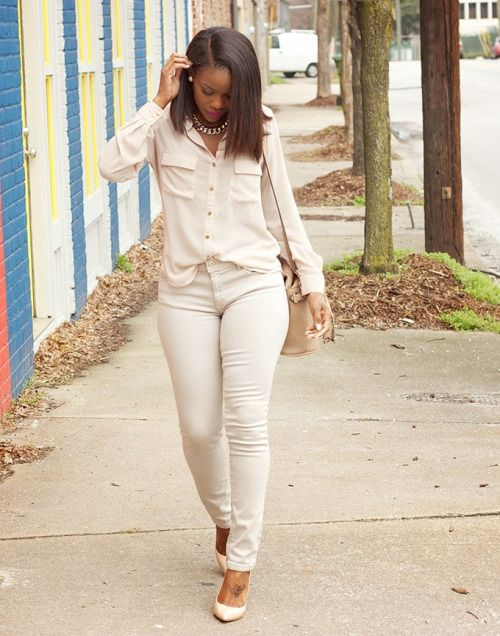 NeutralsForever 21 top | Zara jeans | Zara bucket bag | Steve Madden pumpsFashion By Lover 4 Fashion