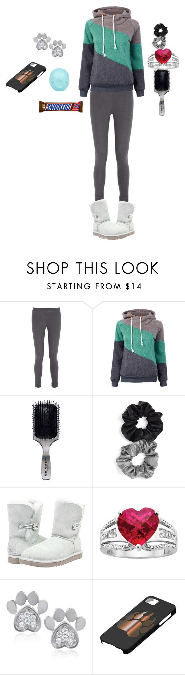 """""""Work out outfit"""" by lcasteris ❤ liked on Polyvore featuring Eberjey, Cricket, Berry, UGG Australia, Journee Collection, River Island, women's clothing, women, female and woman"""