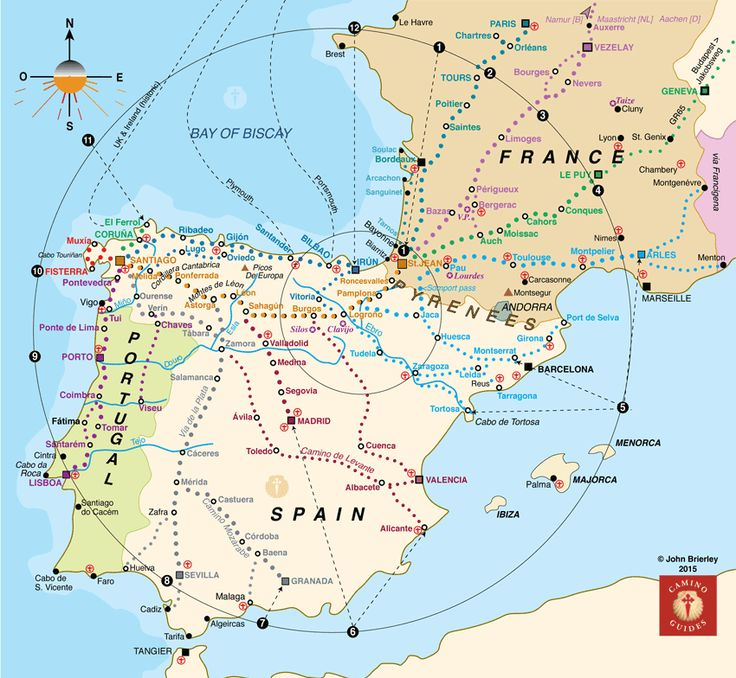 Which Rout Camino Guides