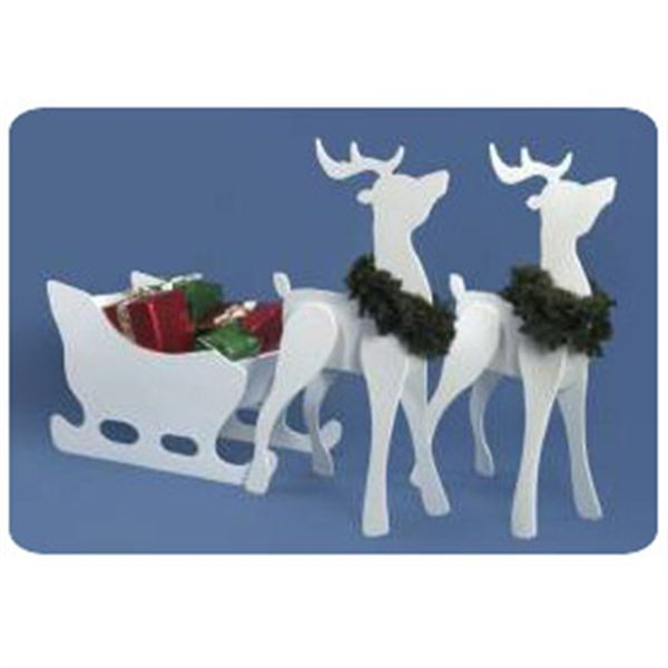 Christmas Reindeer Woodworking Plans - WoodWorking Projects & Plans