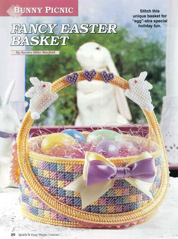 290 Best Images About Plastic Canvas Easter On Pinterest
