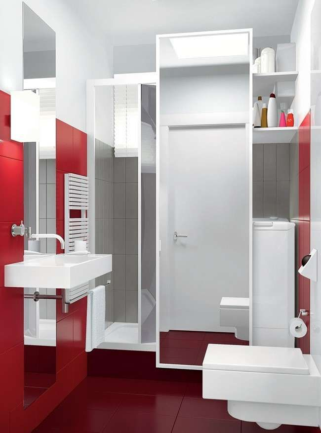 Oltre 25 fantastiche idee su bagno piccolo stretto su - Mobile bagno stretto ...