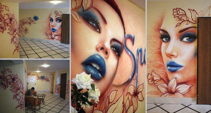 Malowanie Spa, hotel, malarstwo dekoracyjne