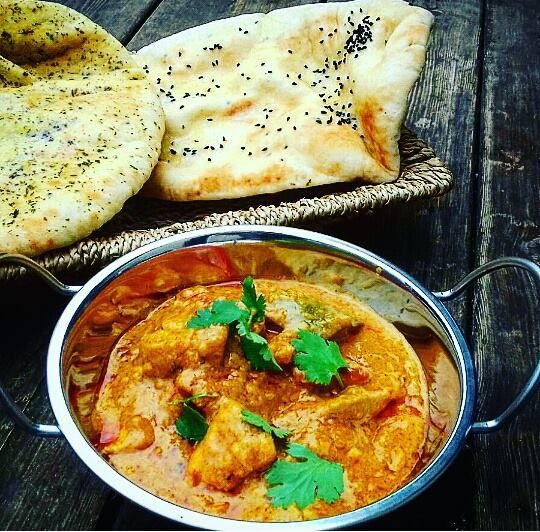 Kurczak+Korma+-Kuchnia+Indyjska