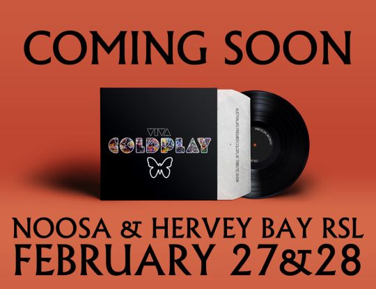 http://www.vivacoldplay.com.au/ Viva Coldplay https://www.facebook.com/vivacoldplayshow?ref=bookmarks hits Queensland at Tewantin-Noosa RSL & Hervey Bay RSL. Get your tickets from the venue. www.noosarsl.com.au https://www.facebook.com/events/1550584095153249/   www.herveybayrsl.com.au https://www.facebook.com/events/327669504082495/